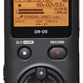 Rent TASCAM DR-05 Portable Digital Recorder