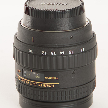 Rent Nikon Mount Tokina 10-17 F3.5 to 4.5 full frame fisheye