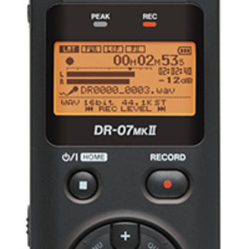 Rent TASCAM DR-07MKII Portable Digital Recorder
