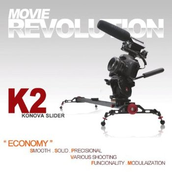 Rent Konova Camera Slider Dolly K2 80cm (31.5 Inch)
