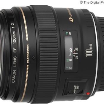Rent Canon EF 100mm f/2 USM Lens