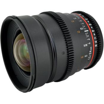 Rent Rokinon 24mm Cine Wide Angle T1.5