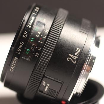Rent Canon 24mm lenses