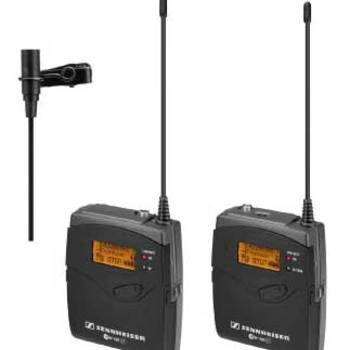 Rent Sennheiser EW100 - G3 Wireless Lavalier Package