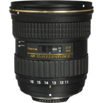 Rent Tokina 11-16mm f/2.8 IF DX II for Nikon