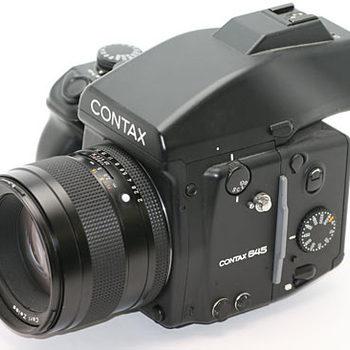 Rent Contax 645 w/ 80mm Planar F/2