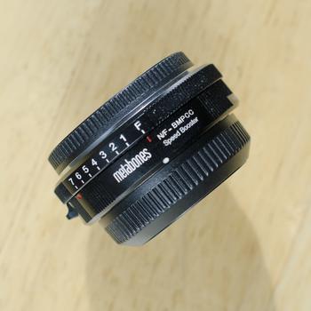 Rent Metabones Speedbooster Nikon to BMPCC