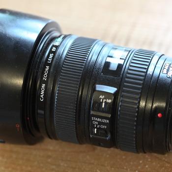 Rent Canon 24-105mm f4 L zoom lens USM