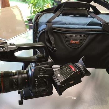 Rent Canon C100, with Dual Pixel CMOS auto focus