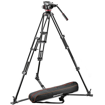 Rent Manfrotto 504 HD Head with w/546B 2-Stage Aluminum Tripod System