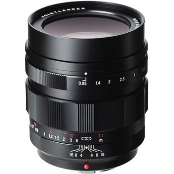 Rent Voigtlander Nokton 42.5mm f/0.95 Micro Four Thirds Lens