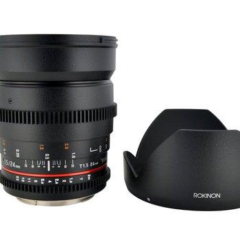 Rent Rokinon 24mm T1.5 Cine Lens