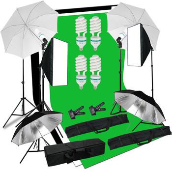 Rent Green Screen & Lighting Kit
