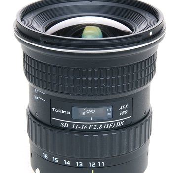 Rent Canon 11-16mm f/2.8 AT-X116 Pro DX 1 (Tokina brand for Canon EOS Cameras)