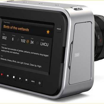 Rent Blackmagic Cinema Camera MFT 2.5k Video Camera