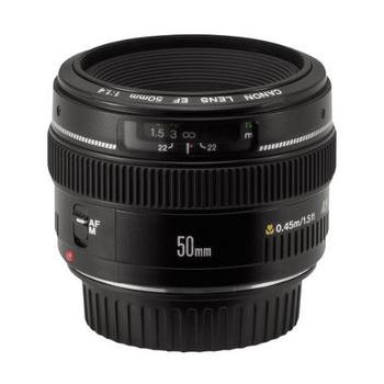 Rent Canon 50mm EF f/1.4 USM