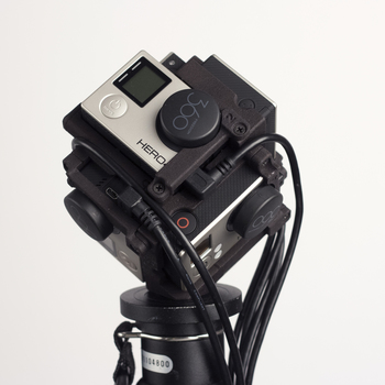 Rent VR / 360 GoPro Hero 4 Black Camera Rig