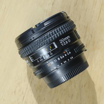 Rent Nikon 20mm f/2.8 D