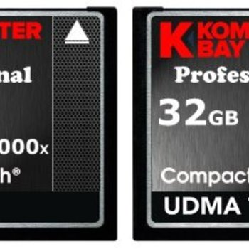 Rent Komputer Bay Professional 32GB 1000x (150MB/s) CF Card x 2 (Two Cards)