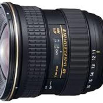 Rent Tokina 11-16mm f/2.8 IF DX II