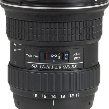 Rent Tokina 11-16mm f/2.8 Pro DX - Canon EF Mount