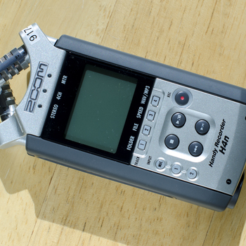 Rent Zoom H4N Handy Portable Digital Recorder