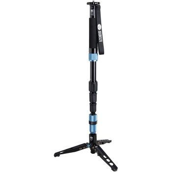 Rent Sirui 4-Section Aluminum Professional Monopod P-204S w/ Three feet Support Stand