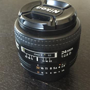 Rent Nikon 24mm f2.8 D