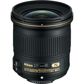 Rent Nikon AF-S Nikkor 24mm f/1.8G ED Lens