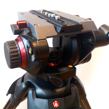 Rent Manfrotto 504HD Fluid Video Head and tripod