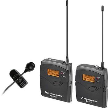Rent Sennheiser EW122-p G3 Wireless Lavalier Mic Kit