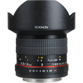 Rent Rokinon 14mm ultra wide angle lens