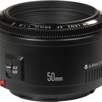 Rent Canon 50mm f/1.8 EF USM II