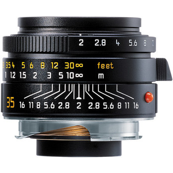 Rent Leica 35mm f/2.0 Summicron M ASPH Aspherical Manual Focus Lens (6-Bit coded) - Black