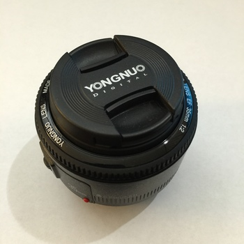 Rent Yongnuo 35mm f/2 Lens for Canon EF Mount