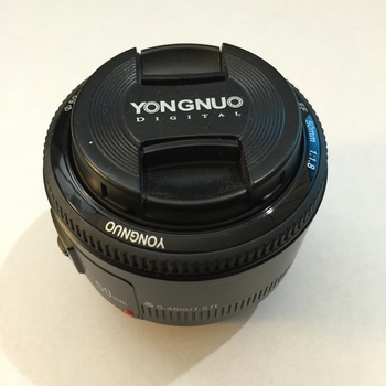Rent Yongnuo 50mm f/1.8 Lens for Canon EF Mount