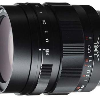 Rent Voigtlander Nokton 42.5mm f/0.95 Lens for Micro 4/3 Cameras
