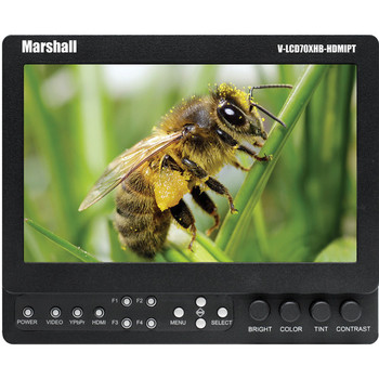 "Rent Marshall Electronics 7"" Field / Camera-Top LCD Monitor (Canon)"