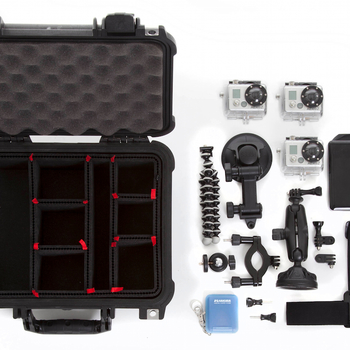 Rent Pelican 1200 Case with Trek Pak Dividers