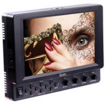 """Rent ikan VK7I-E6 7"""" HDMI MONITOR/CANON E6 BATT PLATE"""