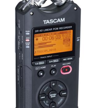 Rent Tascam DR40 Audio Recorder