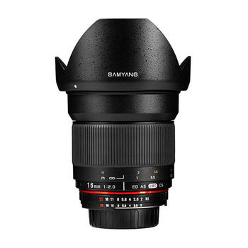 Rent Samyang 16mm T2.2