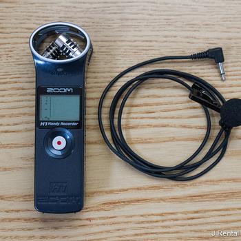 Rent Zoom H Recorder + Lav Mic