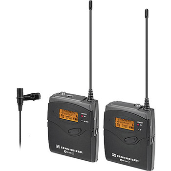 Rent Sennheiser ew 112-p G3 Camera-Mount Wireless Microphone System with ME2 Lavalier Mic - G