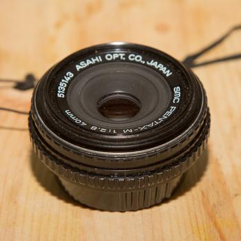 Rent Pentax 40mm Pancake f/2.8 Lens