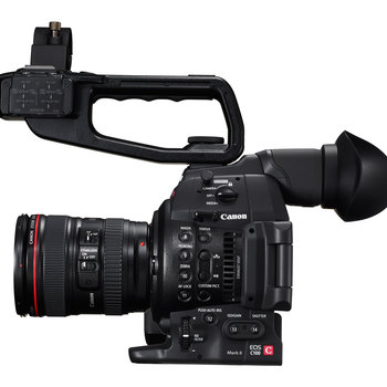 Rent Canon C100 Mark II with 24-105 mm Canon lens