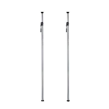 "Rent Auto Pole Set w/ 78"" extensions, telescoping cross bar, and super clamp/u-hooks."