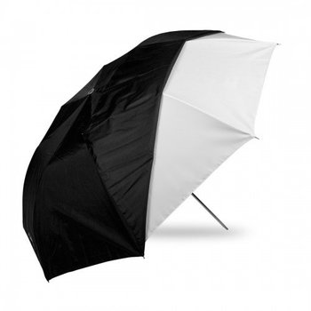 Rent Westcott 2011 43-Inch Optical White Satin Collapsible with Removable Black Cover Umbrella (Black)