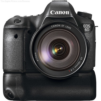 Rent Canon EOS 6D with Battery Grip