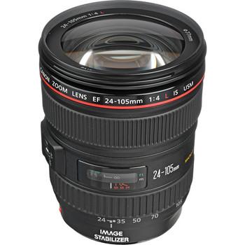 Rent Canon EF 24-105mm f/4 L IS USM Lens
